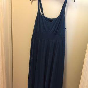 Tiered maxi dress.
